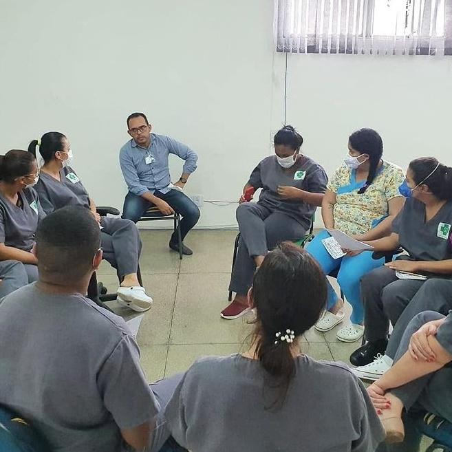 S3Saúde_Saúde_Enfermeiros do HCFS participam de treinamento de LPP